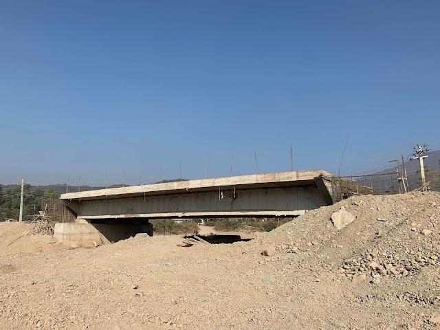 तोकिएको समयभन्दा एक वर्ष पहिला नै पूल निर्माण