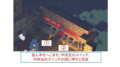 湿っぽい洞窟のパズル攻略画像5