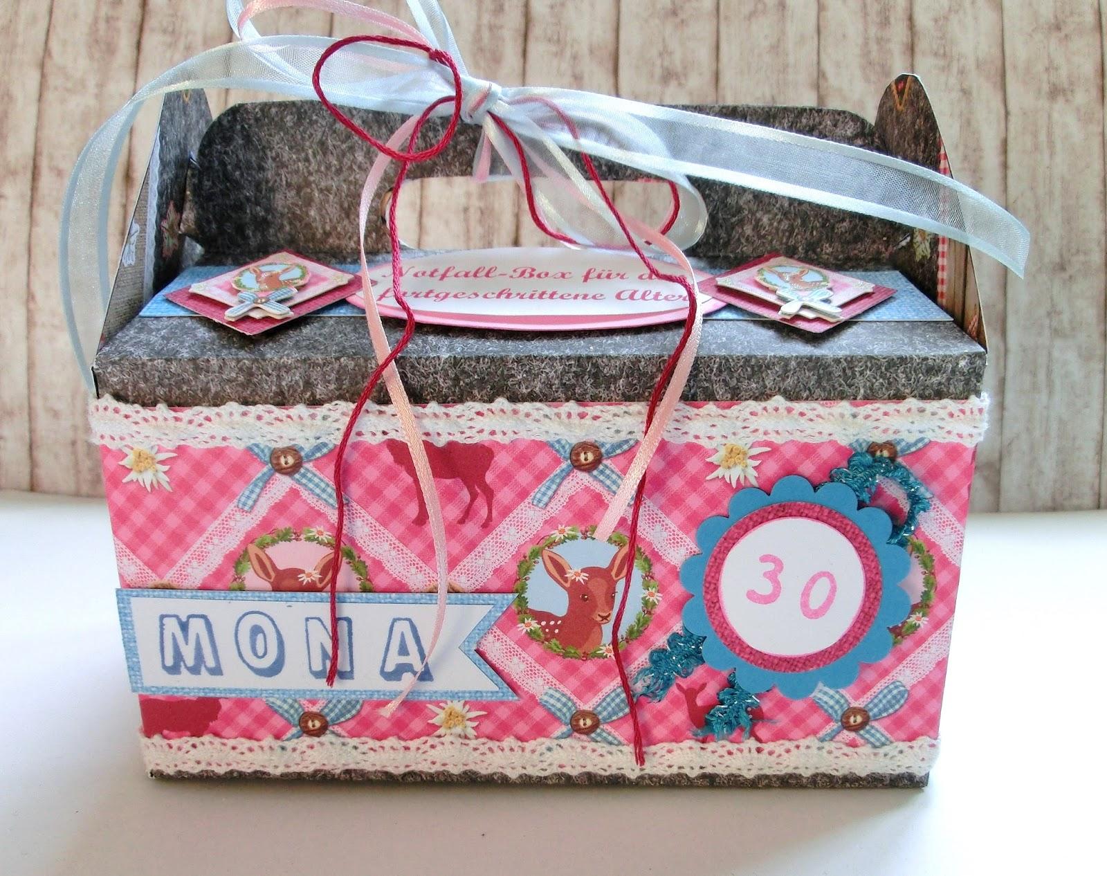 hobby kreativ welt erste hilfe box oder notfall kiste f r 30 j hrige. Black Bedroom Furniture Sets. Home Design Ideas