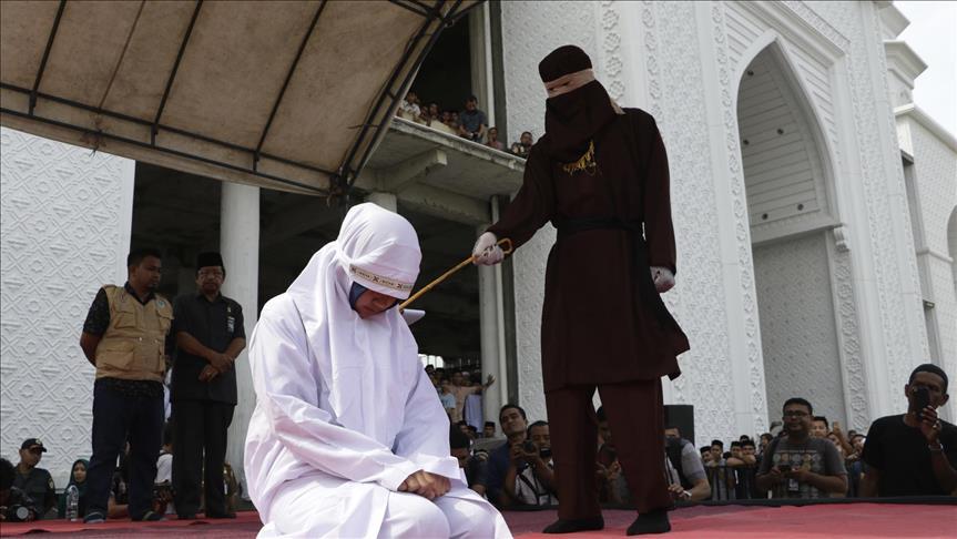 33 Pelanggar Syariat Islam Jalani Hukuman Cambuk di Aceh