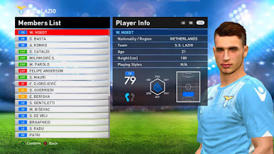 Option File PES 2016 untuk Professional V4.2 update 21-08-2016