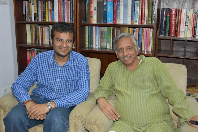 A rendezvous with Ex Minister and Diplomat Mani Shankar Aiyer