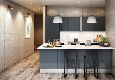Desain Interior Kitchen Set Dapur Minimalis Terkini
