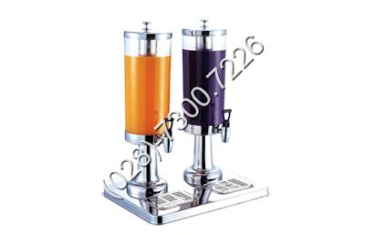 Bình đựng nước trái cây cao cấp inox 2 ngăn BC2225-2