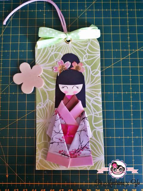 marca páginas geisha papel monerias en fieltro pamonisimayo