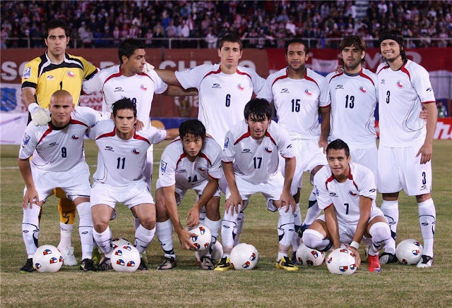 Formación de Chile ante Paraguay, Clasificatorias Sudáfrica 2010, 6 de junio de 2009