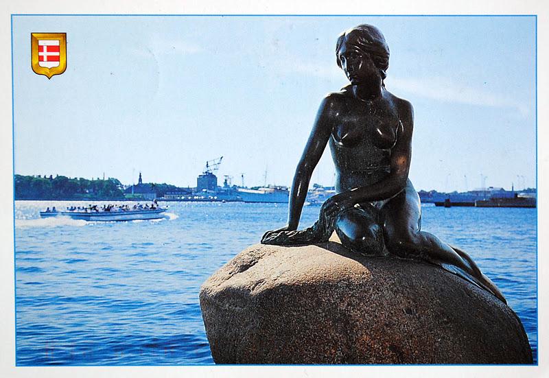 Mała Syrenka w Kopenhadze