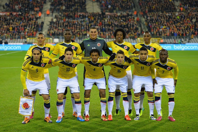 Colombia man squad for FIFA 2018