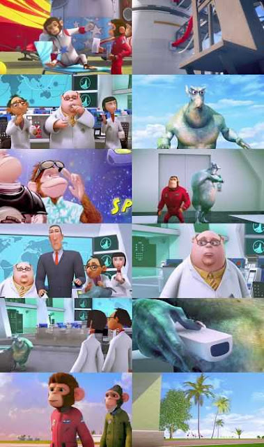 Space Chimps 2 worldfree4u