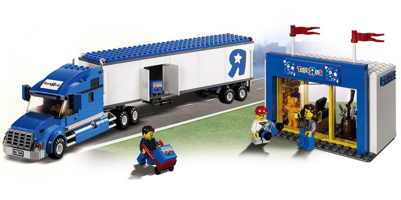 Lego City Toys : Onetwobrick set database lego toys r us truck