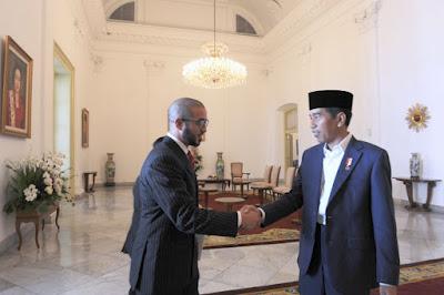 Presiden Jokowi Menerima Kunjungan Kehormatan Pangeran Bahrain - Info Presiden Jokowi Dan Pemerintah