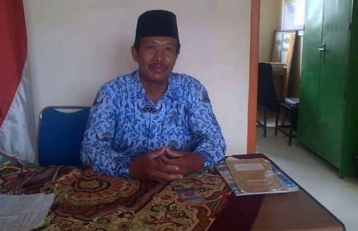 An Harianto, Kepala Sekolah SMP N 4 Katipo Jaya