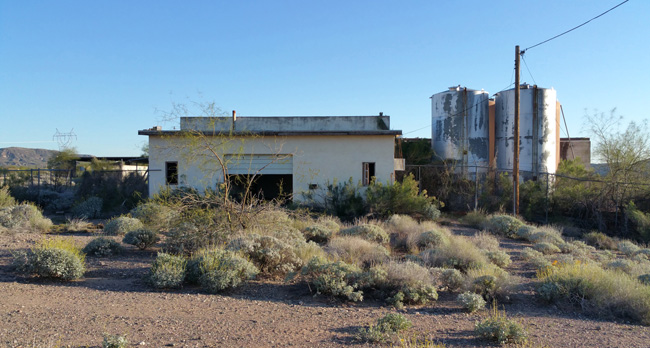 Urban Exploration of Abandoned Black Canyon Greyhound Park near Phoenix, Arizona