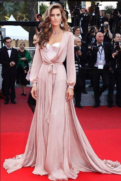 Izabel goulart vestido