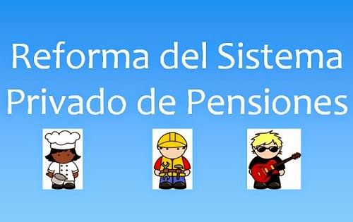 afp, sistema privado de pensiones, jubilación, spp