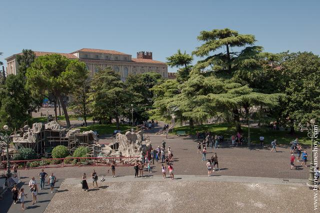 Verona ciudades imprescindible viaje piazza bra