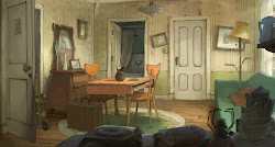 illusionist animation backgrounds sylvain chomet background directed illusionniste anime films created django concept interior apartment pathe cartoon environment flooby animebackgrounds