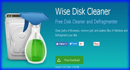 تنظيف واصلاح عيوب ويندوز Wise Disk Cleaner
