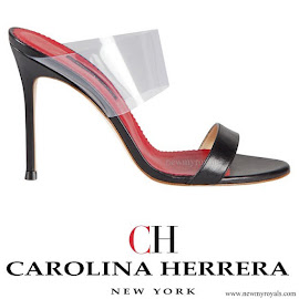 Queen Letizia wore Carolina Herrera Shoes from Spring Summer 2014