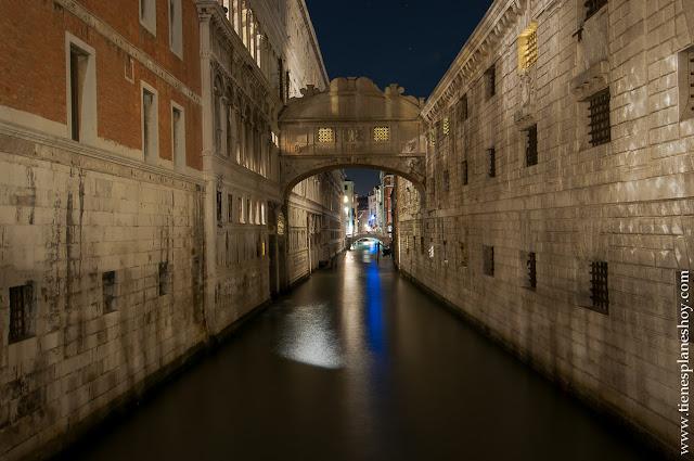 Puente de los Suspiros Venecia Italia viaje