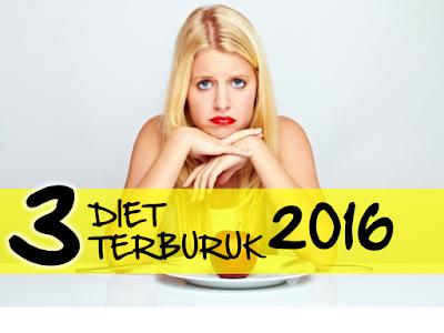 Diet Terburuk Tahun 2016