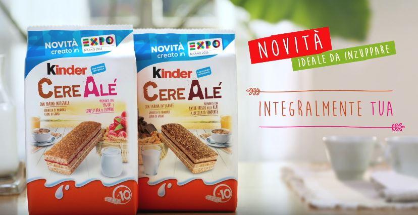 Canzone Kinder pubblicità Cereale con farina integrale - Musica spot Ottobre 2016
