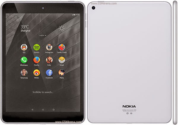 Nokia N1 Official Android L Tablet Launched in China