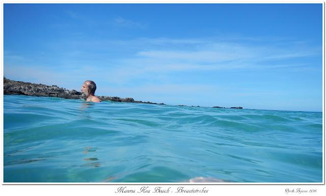 Mauna Kea Beach: Breaststrokes