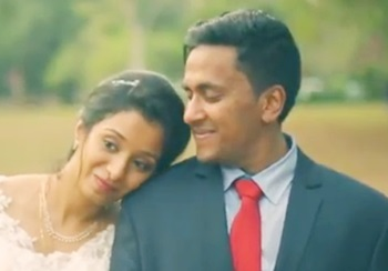 "Beautiful hearts make the most beautiful wedding"" I Rohan & Reeba"