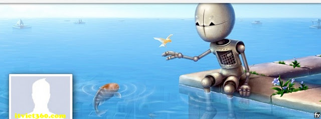 Ảnh bìa facebook 3D đẹp độc đáo - Cover FB timeline nice, câu cá