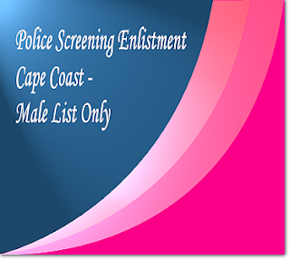 Cape Coast shortlist for male