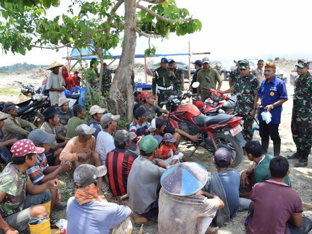 Hartono Kunjungi Lokasi Program Perluasan Cetak Sawah di Buru