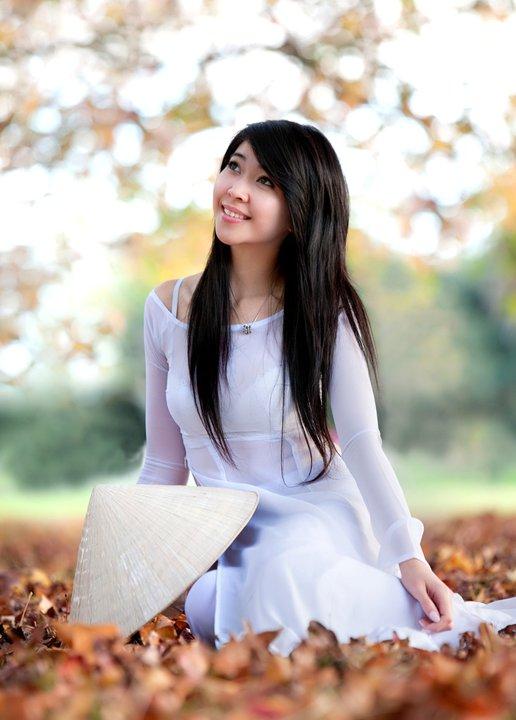 Hot Girls Vietnamese Sexy Ao Dai Viet Nam-4398
