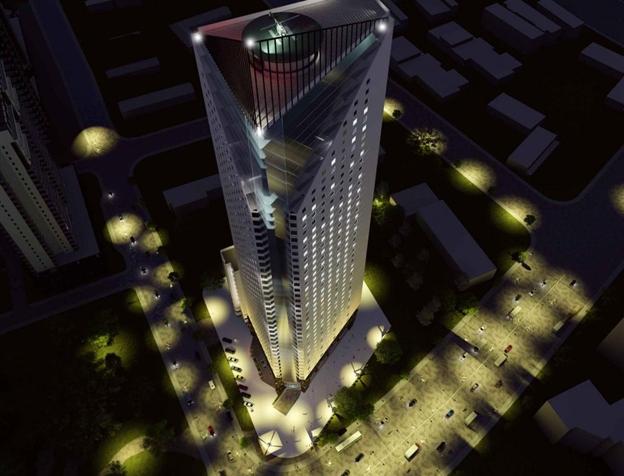 Bán căn hộ sắp ra hàng Tháp Doanh Nhân Hà Đông LH 0976799138 Phoi-canh-thap-doanh-nhan