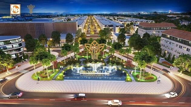 Khu đô thị Crown Villas Thái Nguyên - Thái Hưng Eco City - ducanhland