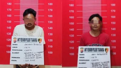 Terekam CCTV, Dua Pemuda Spesialis Pencuri Kambing Langsung di Ringkus Unit Reskrim