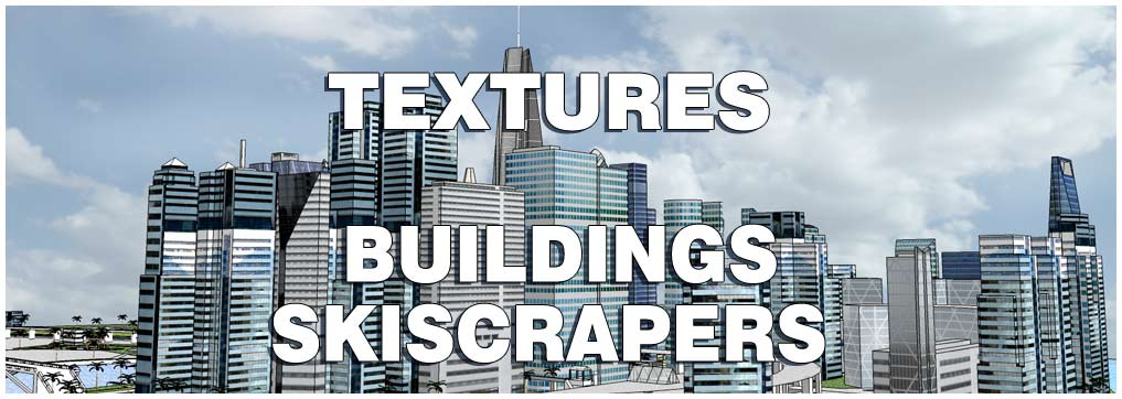 seamless textures buildings skyscrapers -b