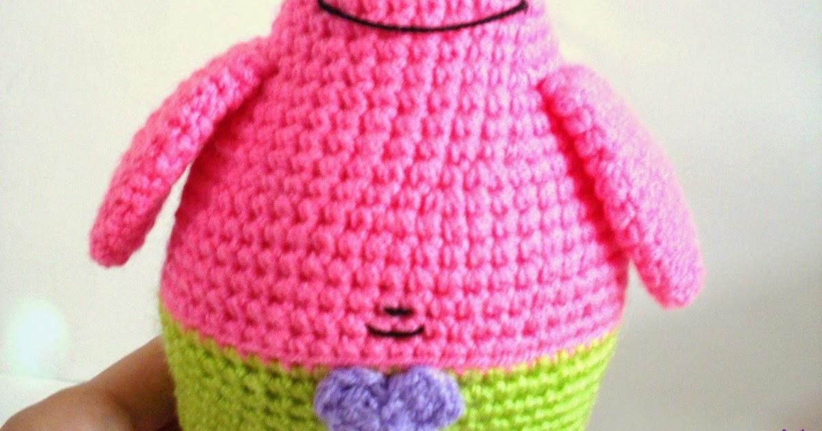 Free Crochet Pattern Patrick Star : AllSoCute Amigurumis: Amigurumi Crochet PatrickStar and ...