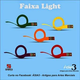 6837486f1 Com diversas Cores a faixa light e indicada para crianças e iniciantes.