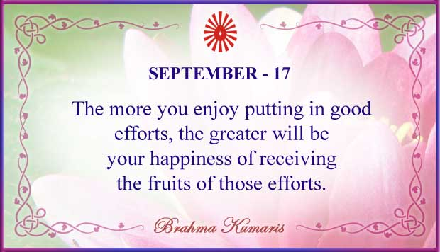 Thought For The Day September 17