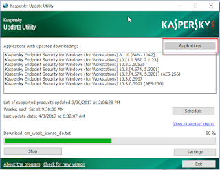 Cara Setting Antivirus Server Untuk Update Database Antivirus Kaspersky Offline