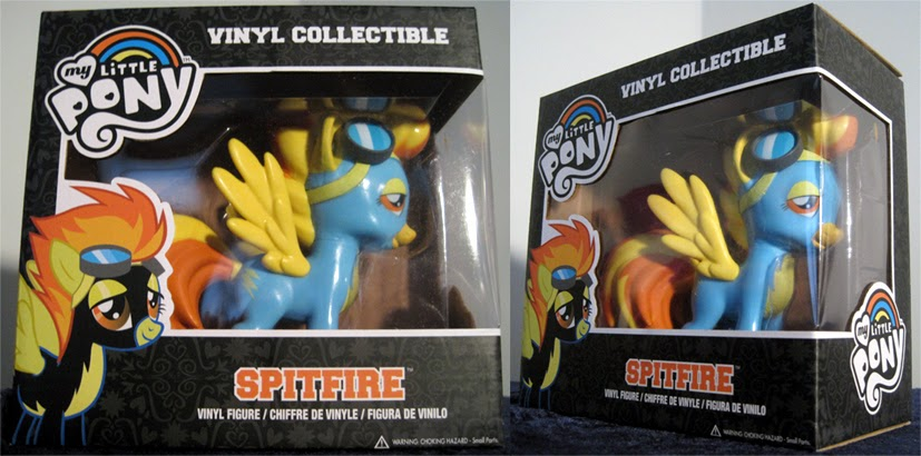 collectible vinyl toy box nebula review funko my little pony vinyl figure spitfire