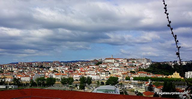 Coimbra, Portugal, vista do mirante do Convento de Santa-Clara-a-Nova