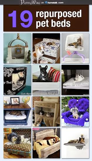 DIY Pet beds on Hometalk
