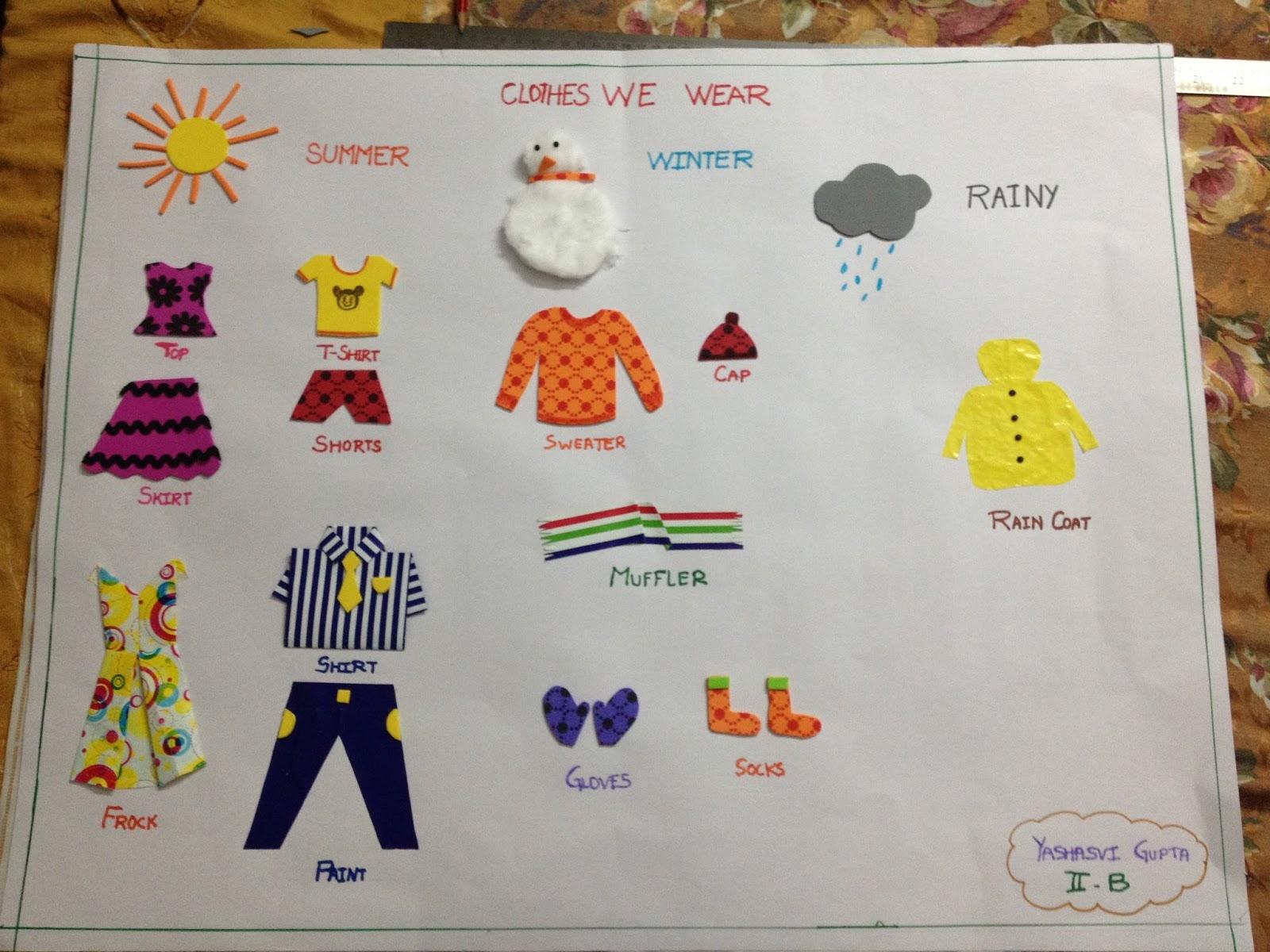 Seasons Worksheet For Lkg