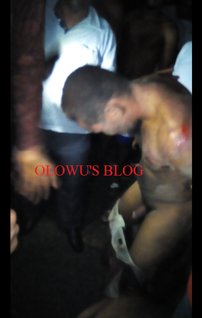 Thief Caught and stripped naked at Lagos State University Epe Campus (Graphic Picture/ Video)