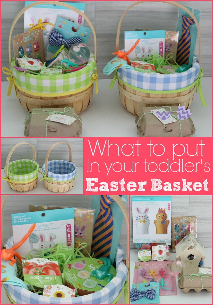 Non candy Easter basket ideas for a baby or toddler