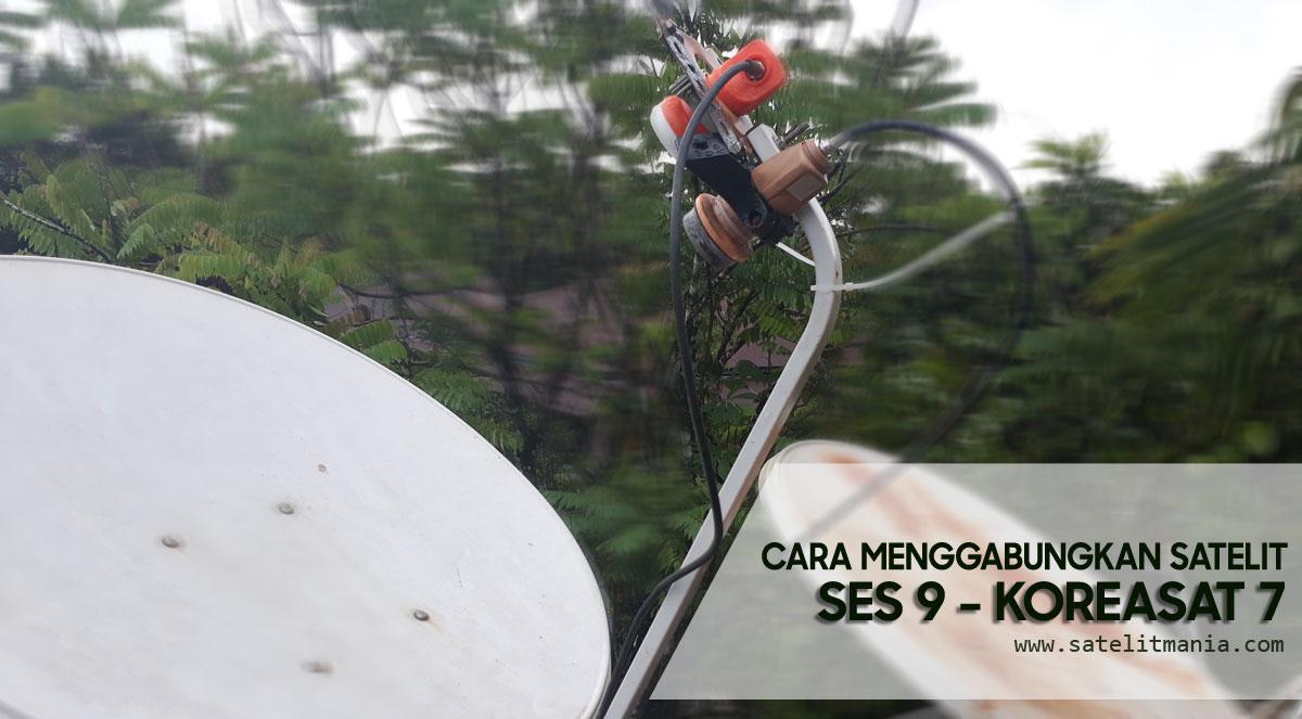 Cara Tracking dan Mencari Satelit Koreasat 7 dan SES 9