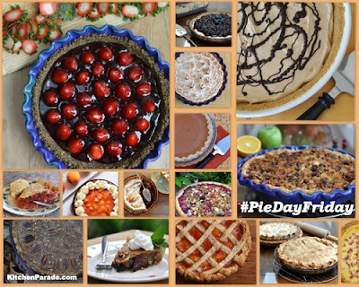 #PiDayFriday, the weekly tradition ♥ KitchenParade.com. It's fun, it's delicious, it's a challenge.