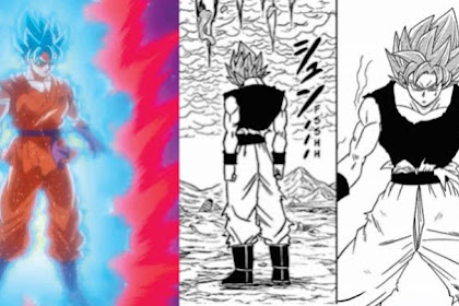 Perbedaan Super Saiyan Blue!! Anime Vs Manga Dragon Ball Super